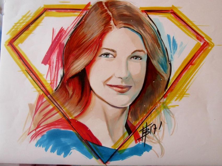 Supergirl, Melissa Benoist par 13thmonkey